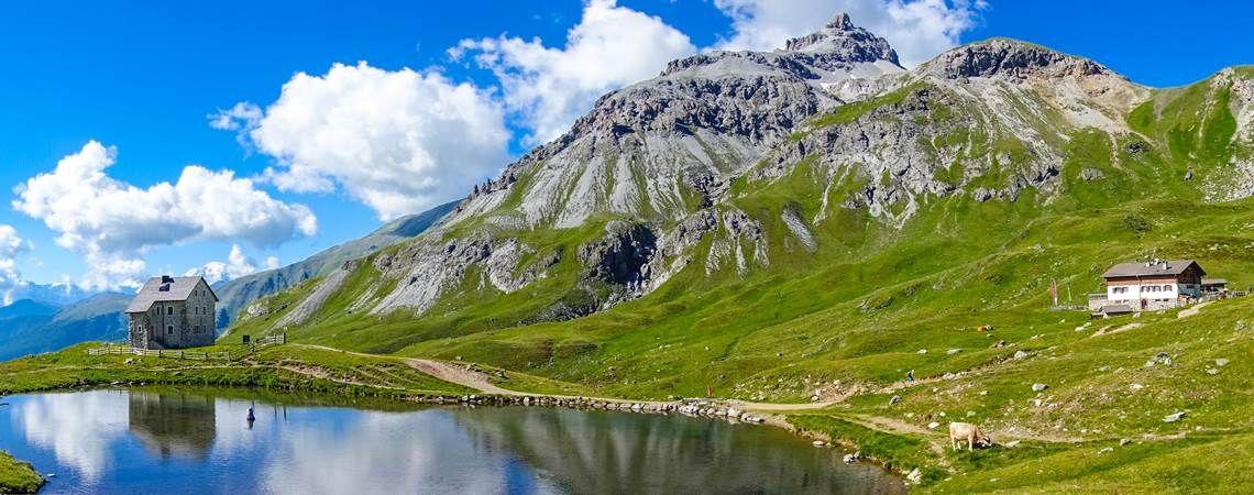einfache alpenüberquerung zu fuß